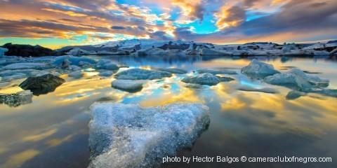 Fire & Ice- Jokulsarlon glacier lagoon Iceland